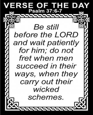 Psalm 37:6-7