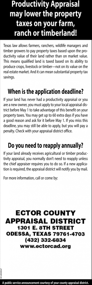 When Is The Application Deadline?