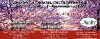 Honoring Memories. Celebrating Lives.
