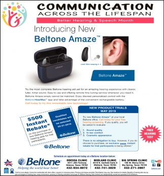 Introducing New Beltone Amaze