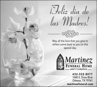 ¡Feliz Dia De Las Madres!