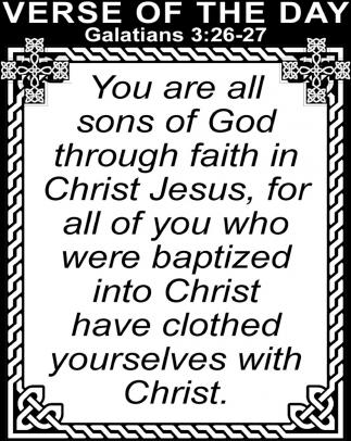 Galatians 3:26-27