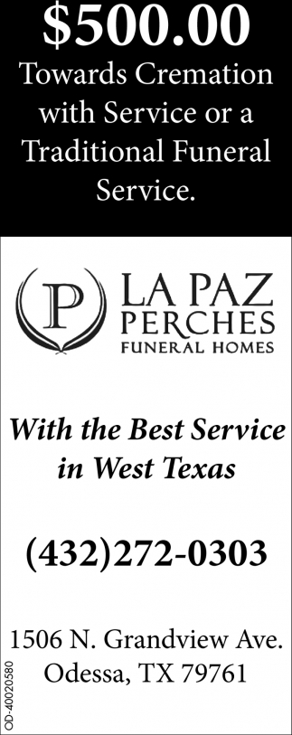 With The Best Service In West Texas