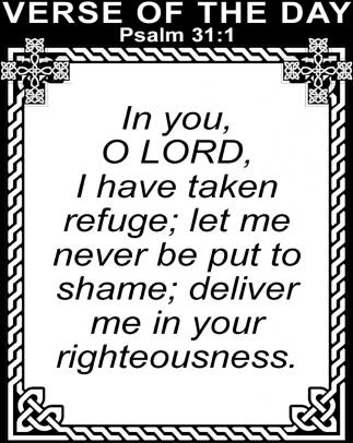 Pasalm 31:1