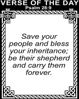 Pasalm 28:9