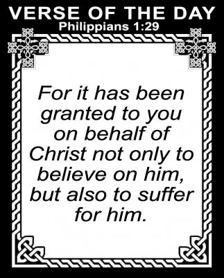 Philippians 1:29