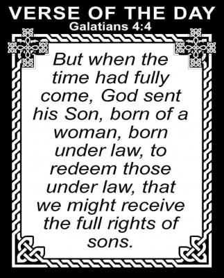 Galatians 4:4