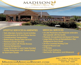 Lifestyle Services & Amenities