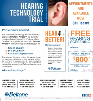 Hearing Technology Trial