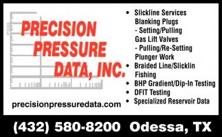Specialized Reservoir Data