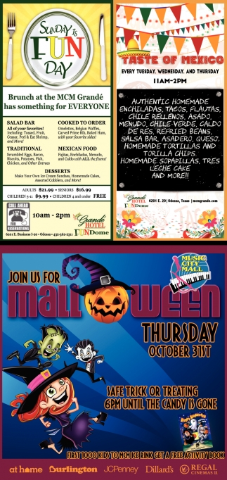 Join Us For Halloween Thursday
