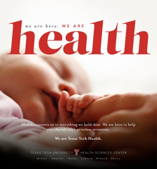 We Are Here. We Are Health.