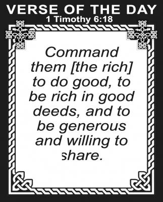 1 Timothy 6:18