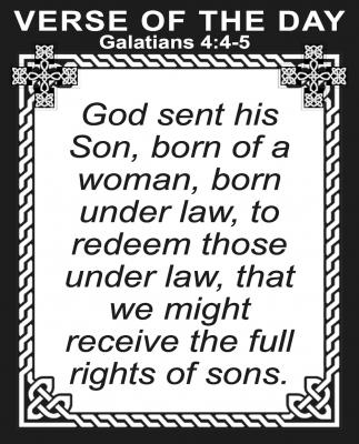 Galatians 4:4-5