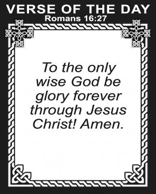 Romans 16:27