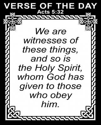 Acts 5:32