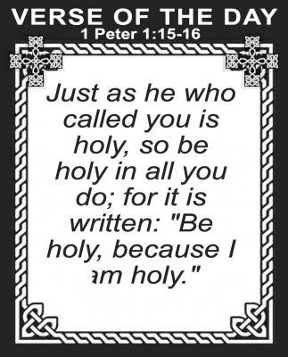 1 Peter 1:15-16