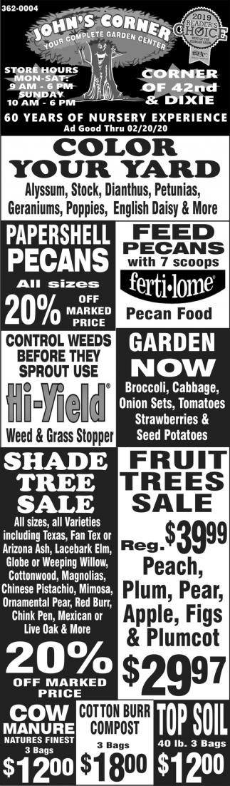 Your Complete Garden Center
