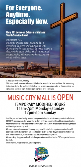 Music City Mall Is Open