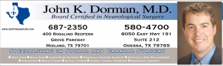 John K. Dorman M.D.