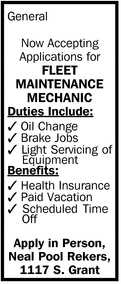 Fleet Maintenance Mechanic