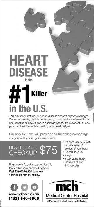 Heart Disease Is The #1 Killer In The U.S.