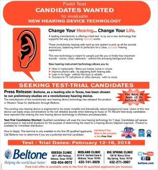 Seeking Test-Trial Candidates
