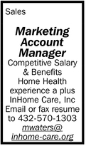 Marketing Account Manager