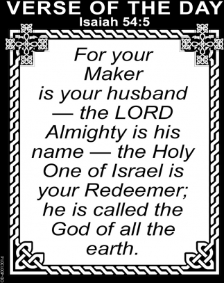Isaiah 54:5