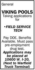 Field Service Tech