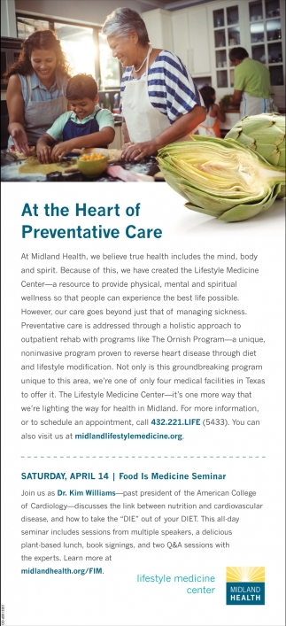 At The Heart Of Preventive Care